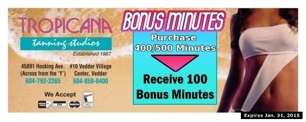 The tanning studio coupons