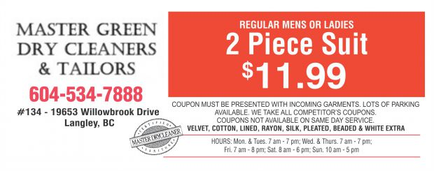 Web dry cleaners coupons