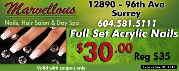 Manicure coupons surrey bc
