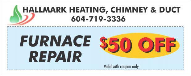 Furnace Repair 50 00 Off At Hallmark Heating Fireplace
