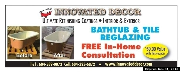 photo regarding Floor and Decor Printable Coupons called Bath Tile Reglazing at Innovated Decor - Dwelling Yard
