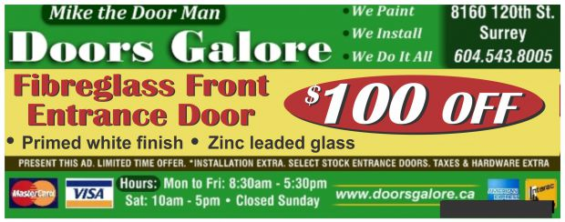 Exterior Doors 10000 Off At Doors Galore Home Garden Coupons