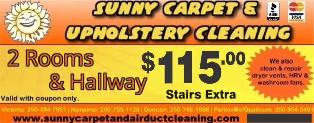 2 Rooms Amp Hallway Carpet Cleaning At Sunny Carpet