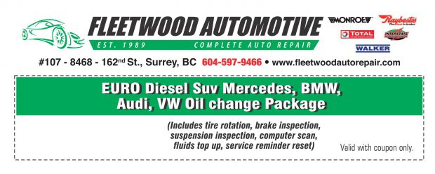 Mercedes benz suv diesel oil change 179 at onyx for Service coupons for mercedes benz