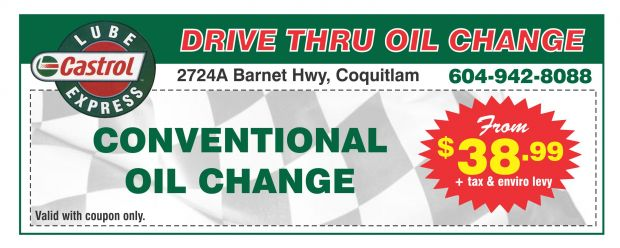 photograph regarding Castrol Oil Coupons Printable named Oil Big difference $28.99 at Castrol Lube Convey - Car Repair service