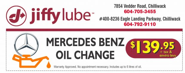 mercedes benz oil change at jiffy lube auto