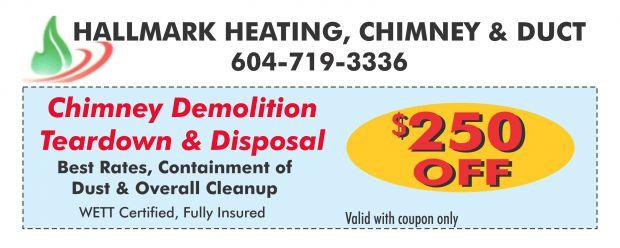 Chimney Demolition Tear Down 250 00 Off At Hallmark