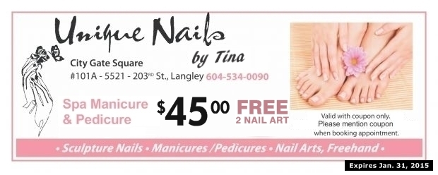Spa Manicure Pedicure 4500 At Unique Nails By Tina Health