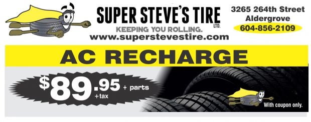 auto ac recharge ac recharge 8995 at super steves tire ltd auto repair coupons