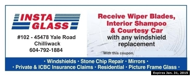 Windshield replacement coupons
