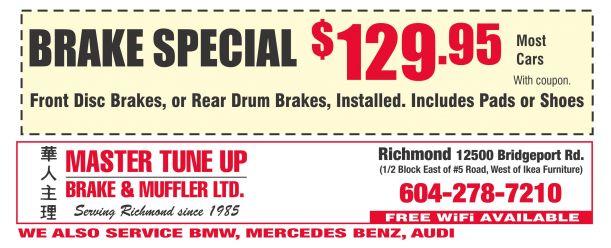 Brake Masters Coupons >> Brake Masters Coupons Printable