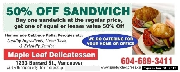 Vancouver coupon sites